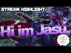 LOL – 完璧なJasuがでた – YouTube