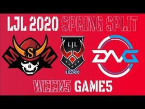 【DFM初黒星】LJL 2020 Spring Split Week5 Game5 ハイライト – YouTube