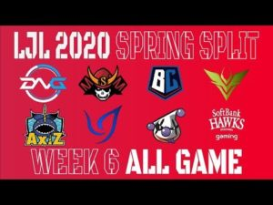 【LJLまとめ】LJL 2020 Spring Split Week6 All Game ハイライト