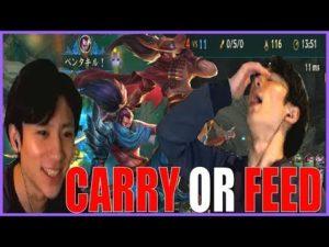 【鍛錬】「Carry OR Feed」これが真のヤスオ使いだ【ぽんじー】